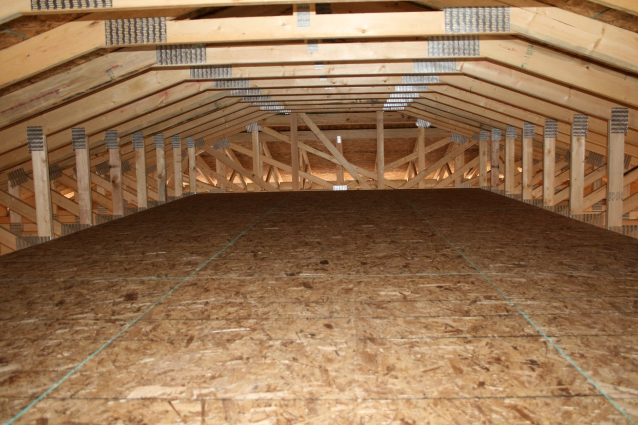 Roof Truss Design For Attic Storage Attic Ideas