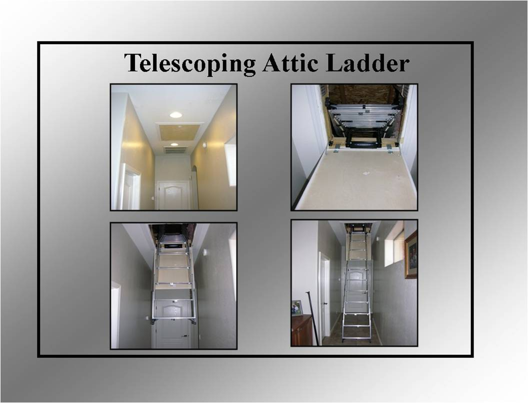 Werner Aa8 Televator Telescoping Attic Ladder Attic Ideas
