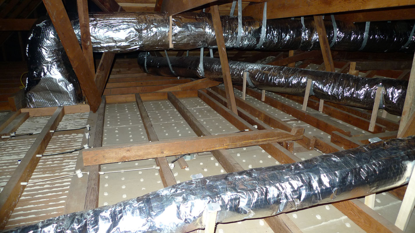 46 Insulating Attic Ductwork Insulating Ductwork In Basement in proportions 1422 X 800