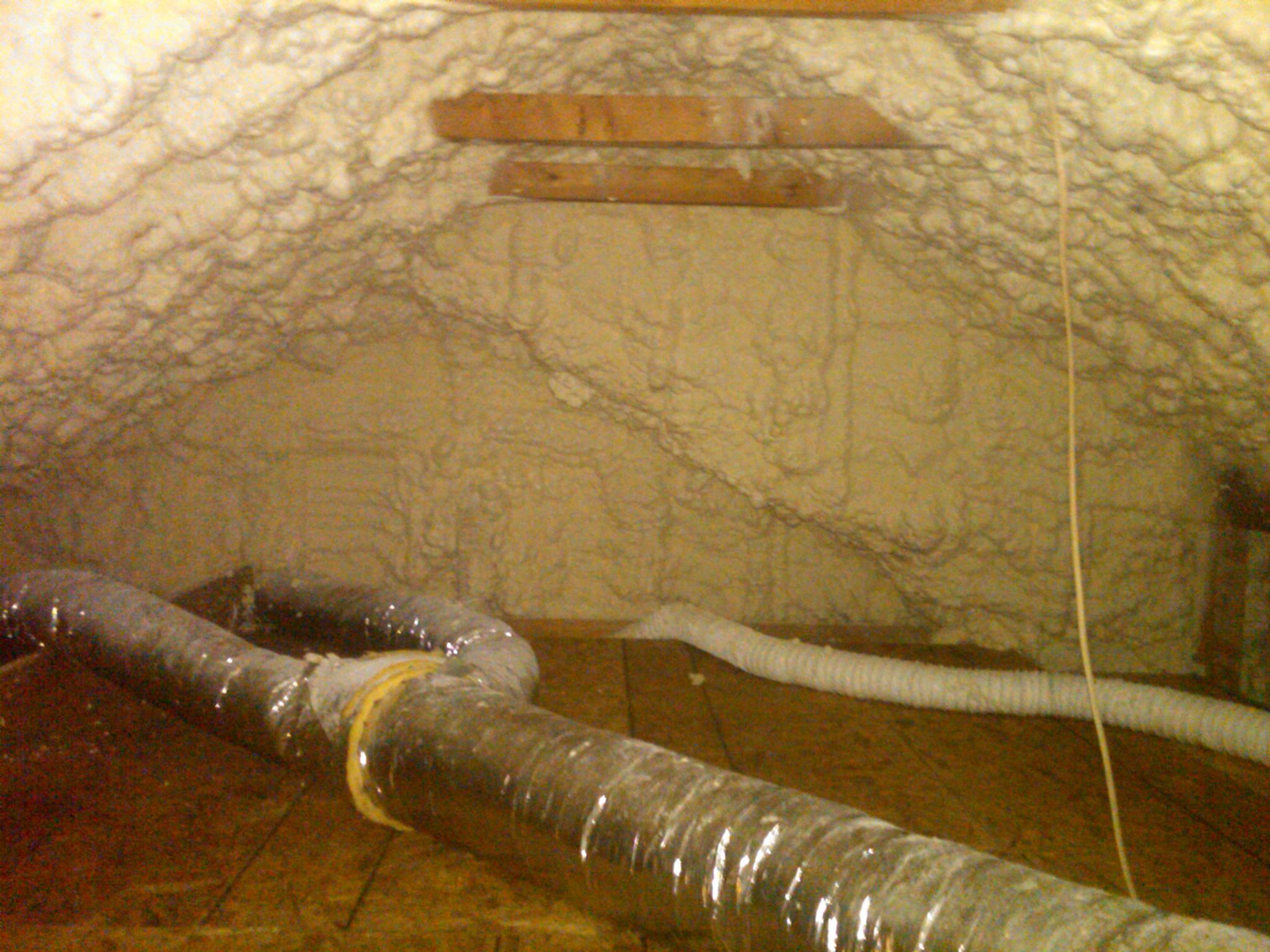 Insulating Attic Hvac Ducts Attic Ideas