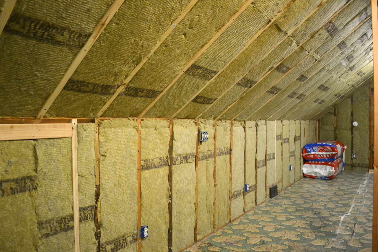 Attic rafter insulation ceiling attic ideas for Which insulation is better