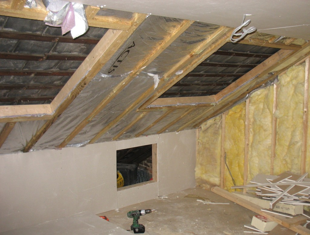 53 Insulating An Attic Room Living Room Brp Spray Foam with regard to dimensions 1024 X 777
