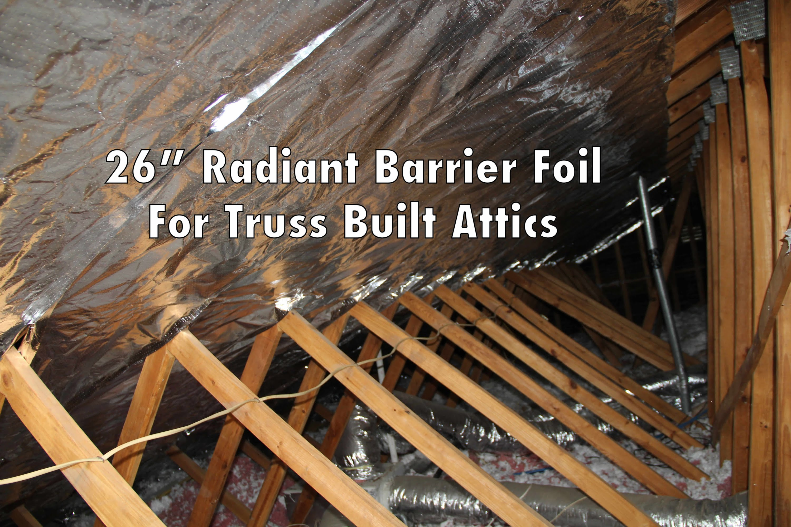 55 Attic Reflective Barrier 1000 Sqft Radiant Barrier Attic Foil within measurements 3000 X 2000