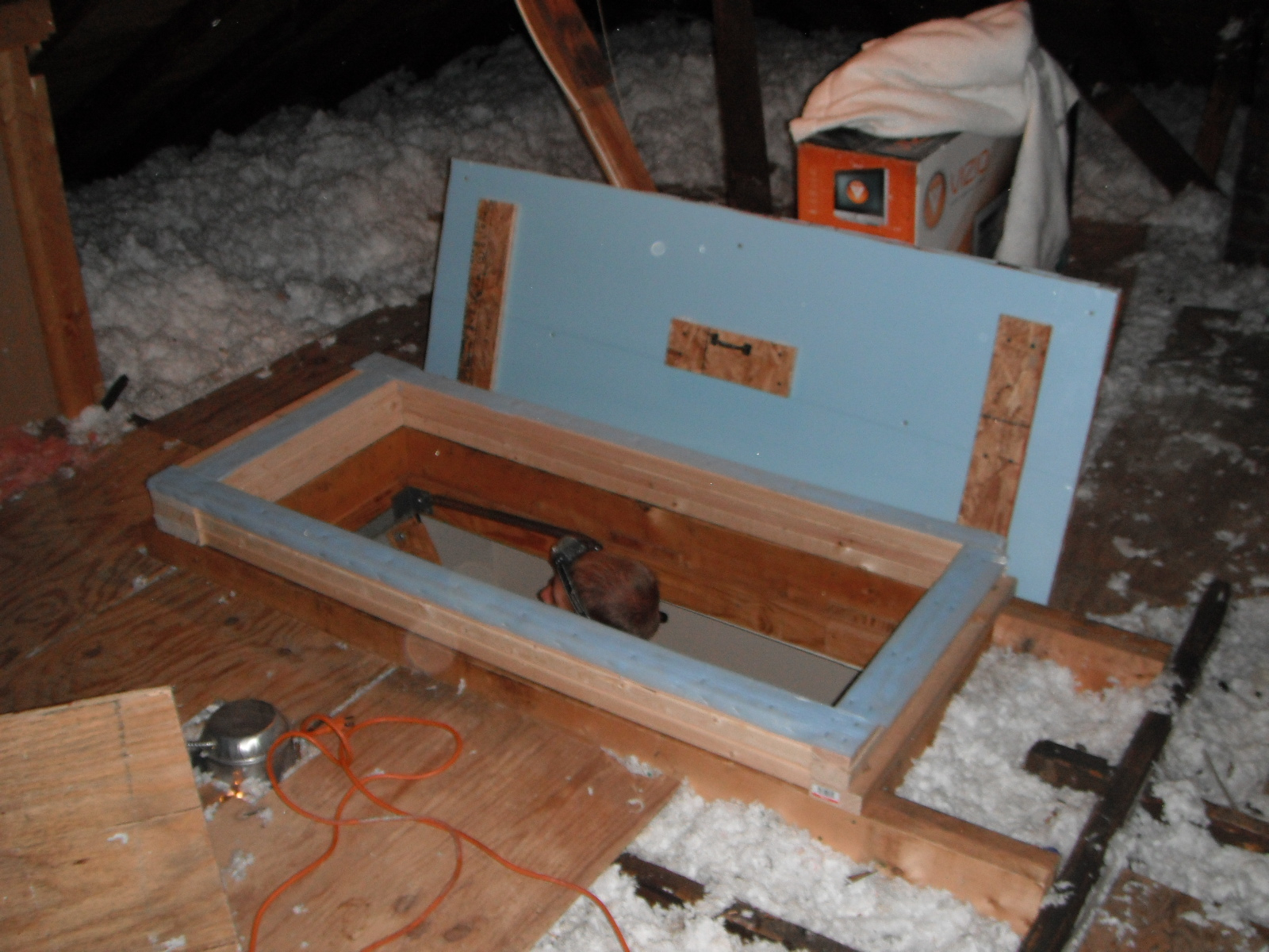 57 Attic Stairway Cover Pull Down Attic Stair Insulation Attic With  Dimensions 1600 X 1200
