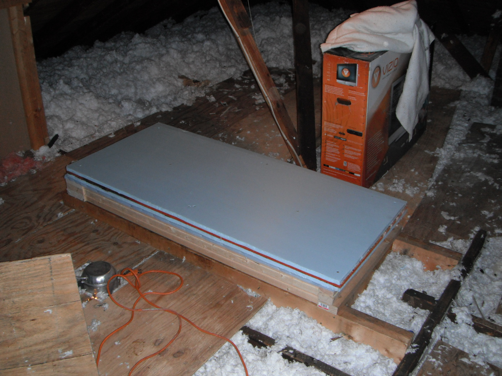 Attic Stairway Insulator Cover Attic Ideas