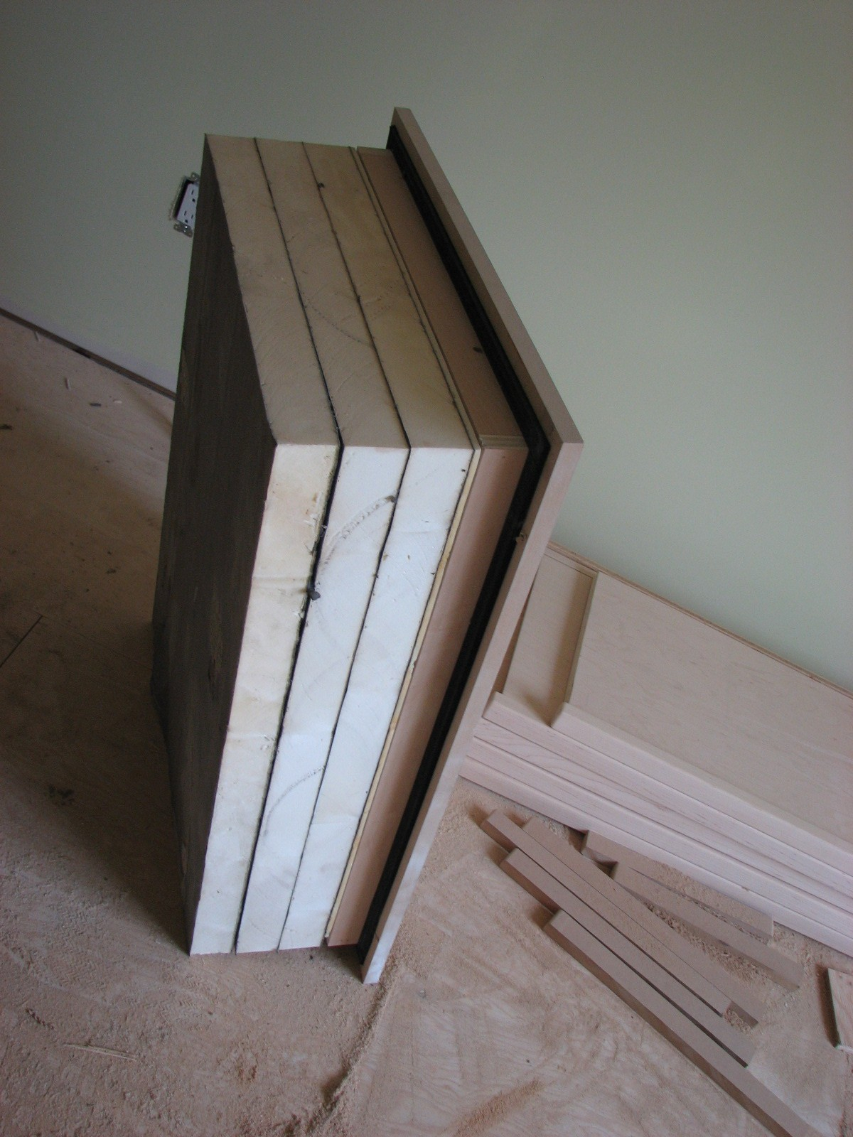57 Insulating Attic Door 17 Best Ideas About Attic Storage On for size 1200 X 1600