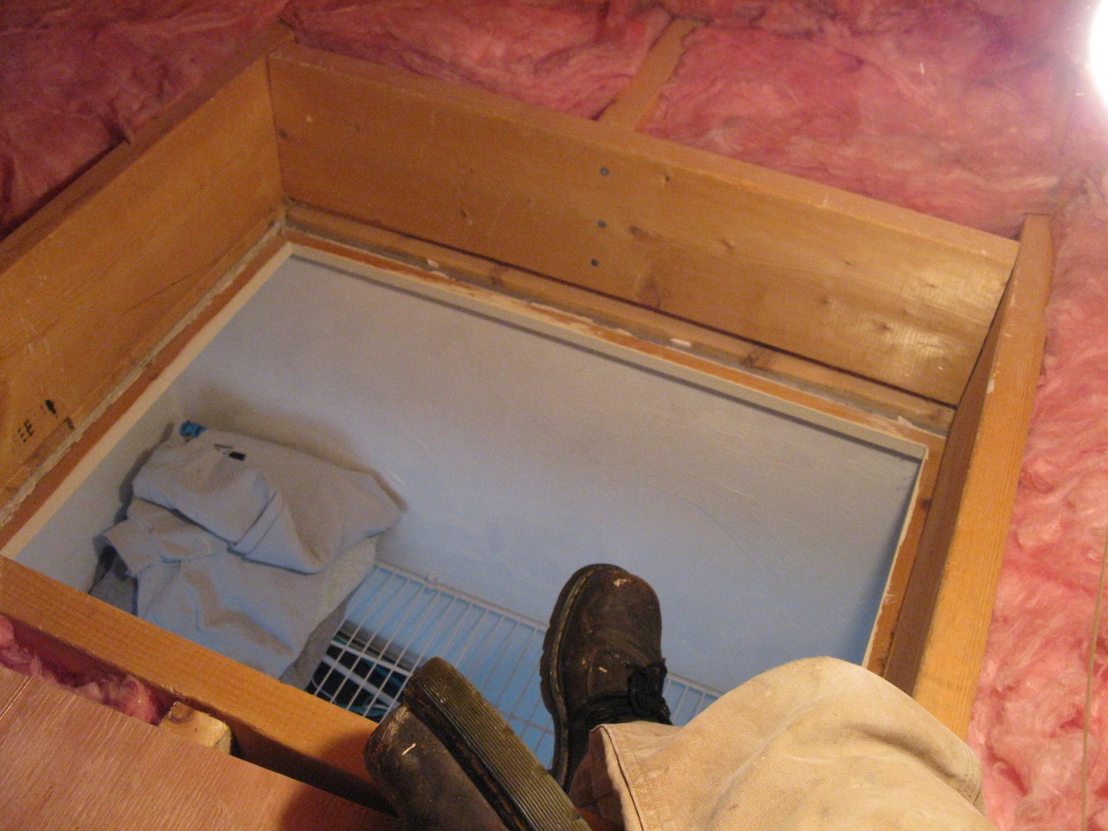57 Insulating Attic Door 17 Best Ideas About Attic Storage On within dimensions 1600 X 1200 & Attic Door Heat Shield u2022 Attic Ideas