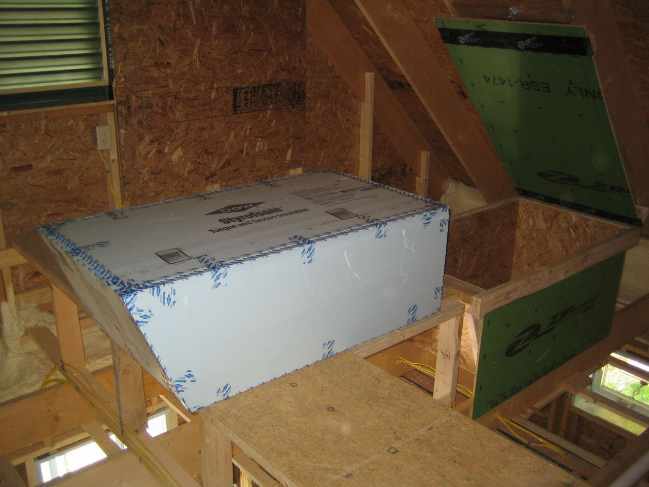 57 Insulating Attic Hatch 655 Ss Diy Fold Down Attic Stair throughout sizing 1280 X 960