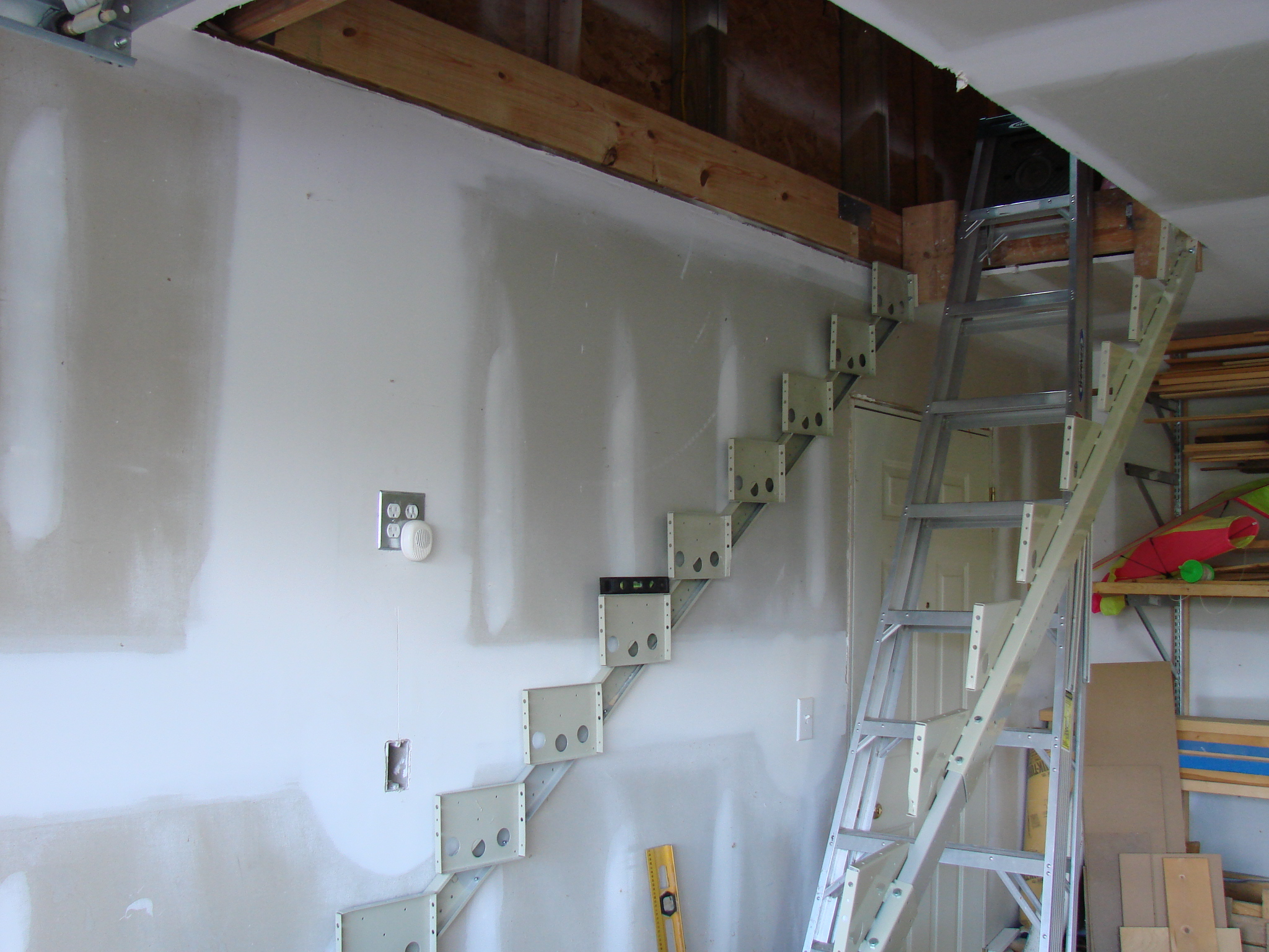 Garage Attic Access Stairs Attic Ideas