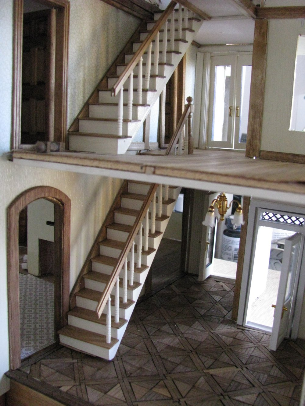 Dollhouse Disappearing Attic Stairs Attic Ideas