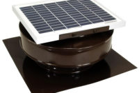Active Ventilation 365 Cfm Brown Powder Coated 5 Watt Solar with regard to measurements 1000 X 1000