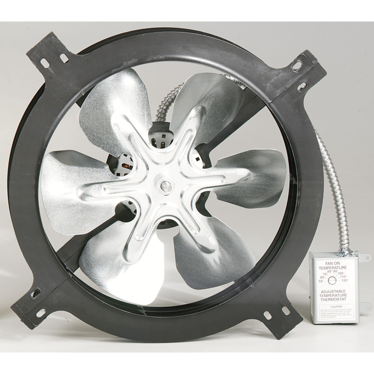 Air Vent Attic Aire 1050 Cfm Gable Mount Power Fan 53315 within size 1305 X 1305