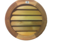 Als Millworks 18 In Wood Round Louver Vent V 102 18vcd The inside size 1000 X 1000