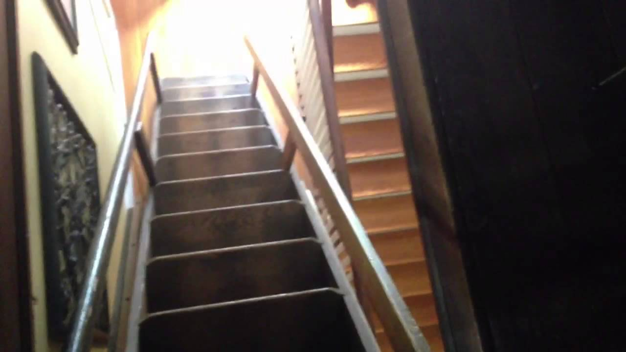Automatic Pull Down Attic Stairs Attic Ideas