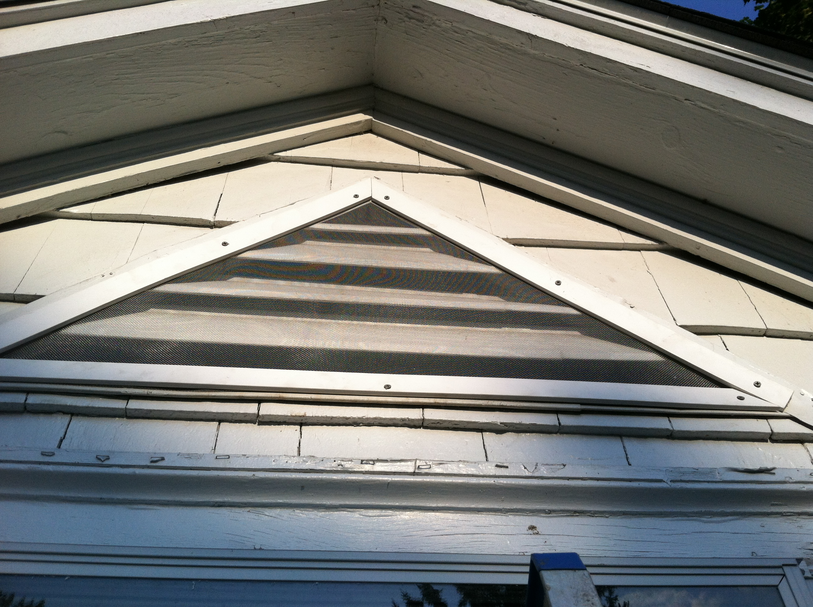 Architecture Awesome Gable Vents In Wall Design With Sloping Roof intended for sizing 2592 X 1936