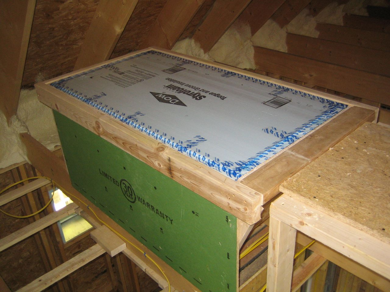 Attic Access Detail The Cork Up Hill House inside dimensions 1280 X 960 & Insulating An Attic Hatch u2022 Attic Ideas