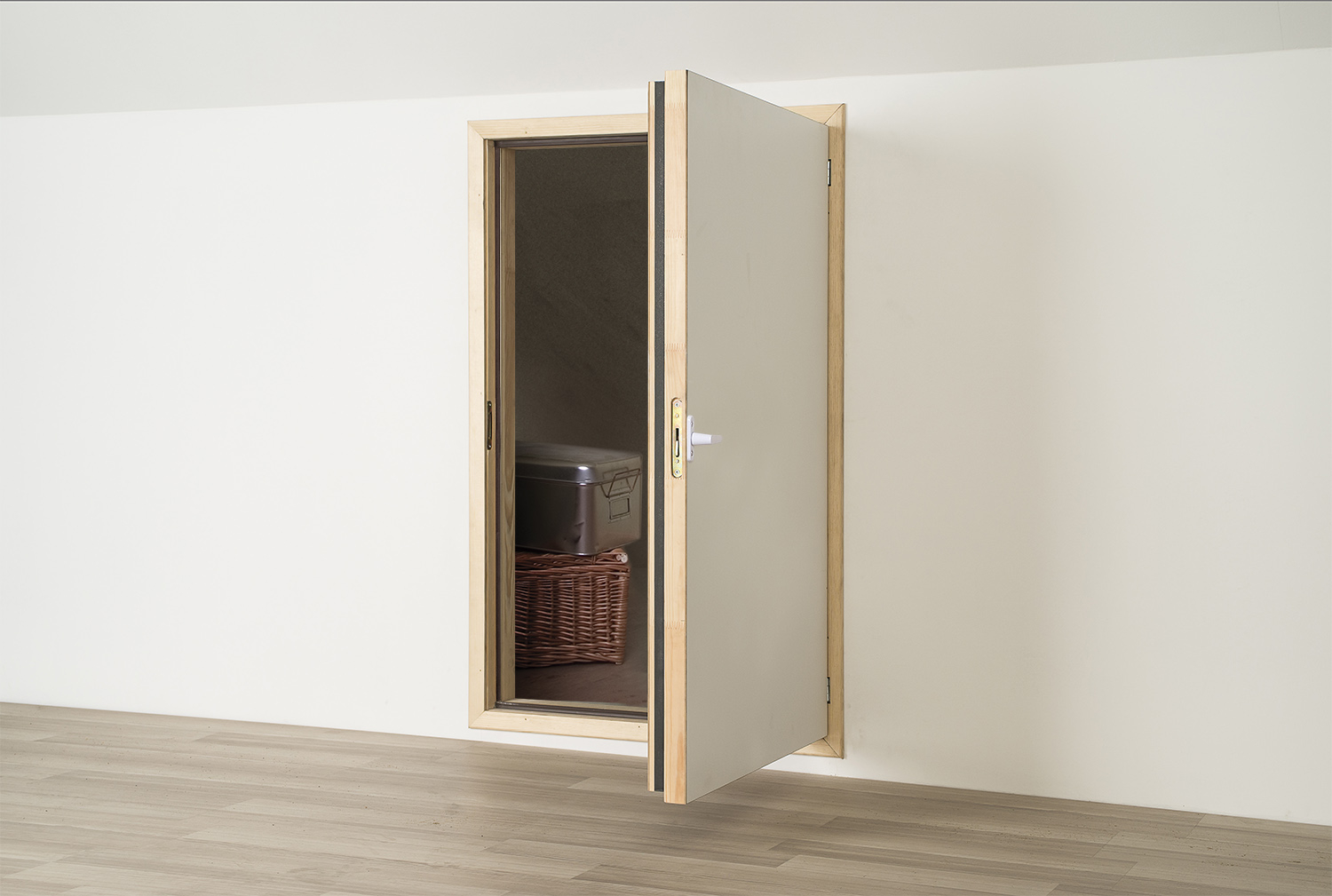 Small Attic Access Door Attic Ideas