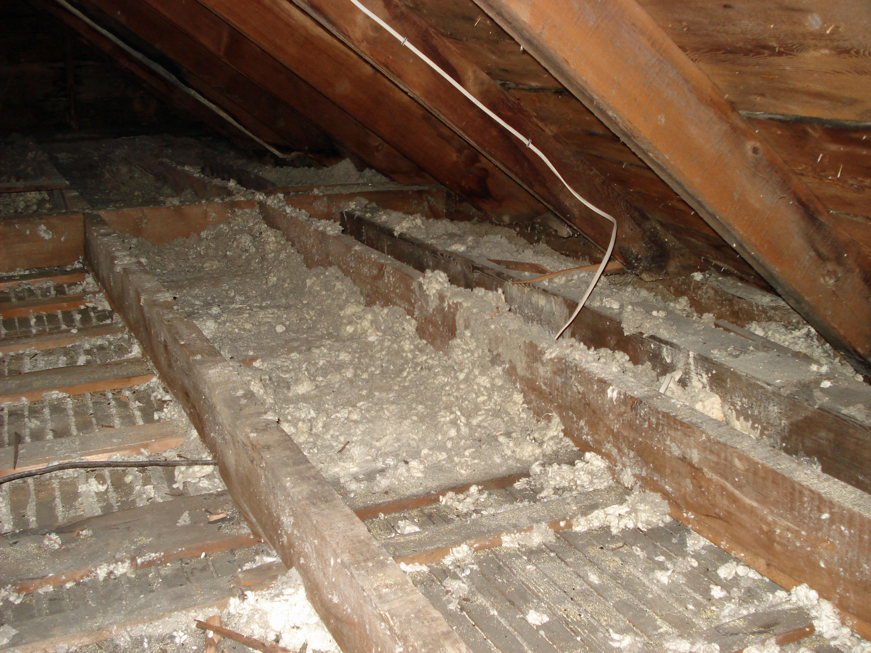 Insulating The Attic Rafters Attic Ideas