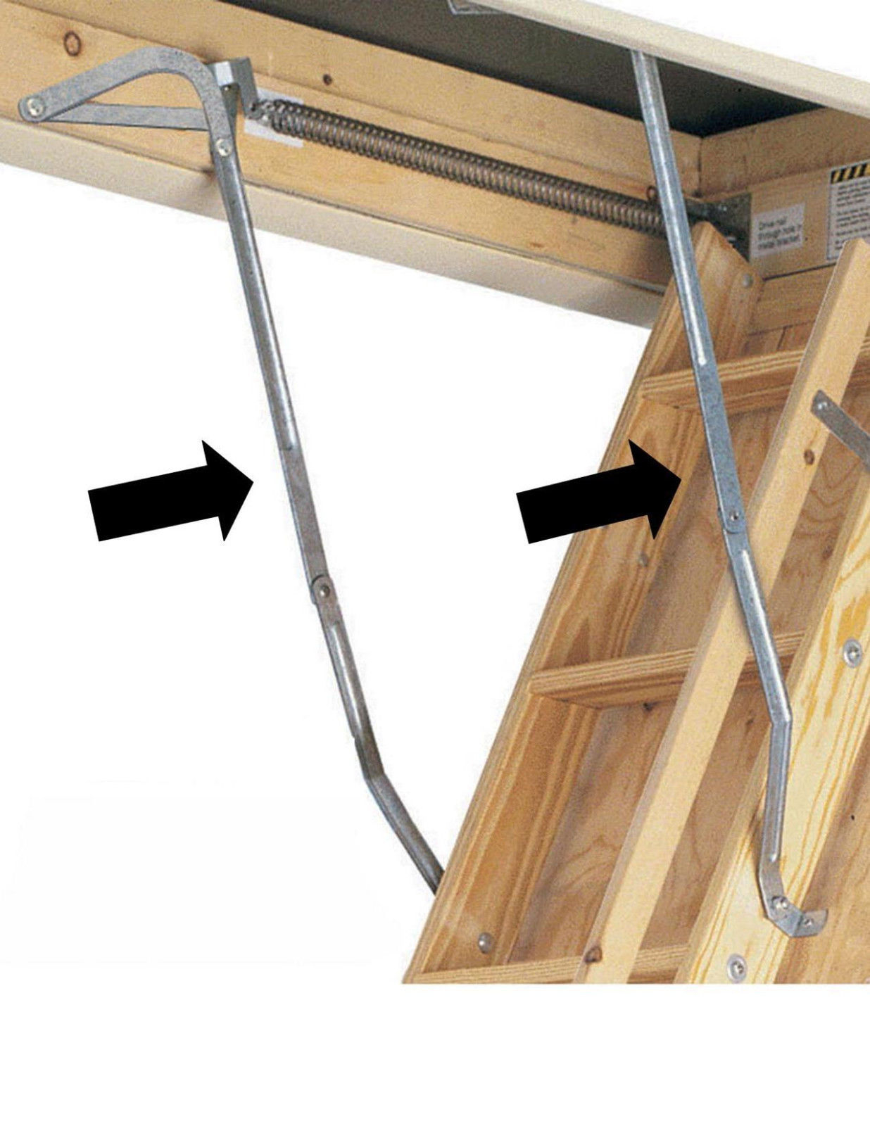 Werner Aa10 Televator Telescoping Attic Ladder Attic Ideas