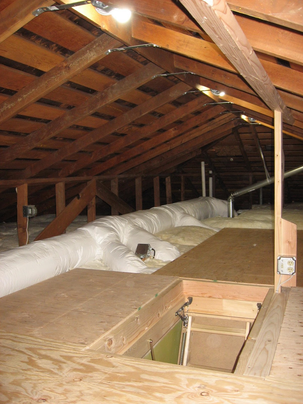 Attic Ladder Installation Phillip Norman Attic Access pertaining to sizing 1200 X 1600