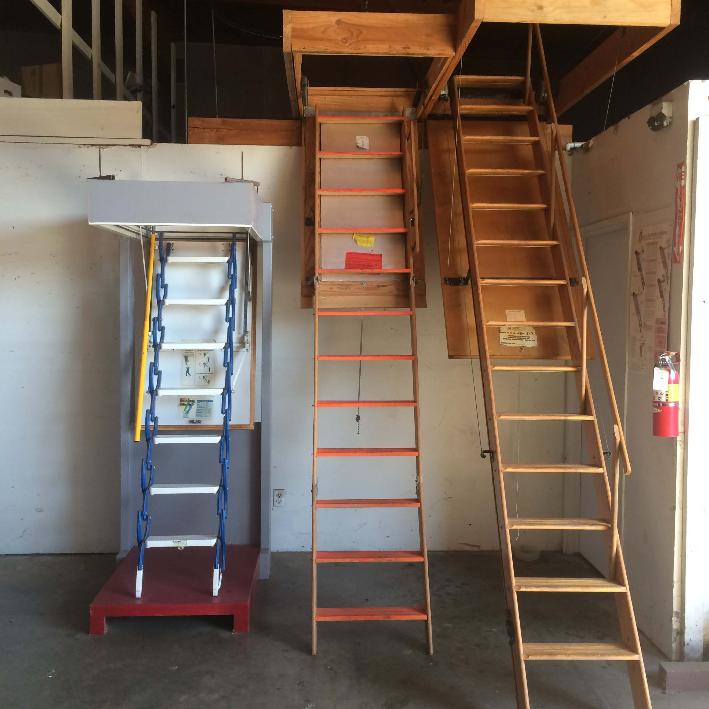 Beautiful Attic Ladders Industrial Ladder And Scaffolding Inc Within Proportions 2448  X 2448