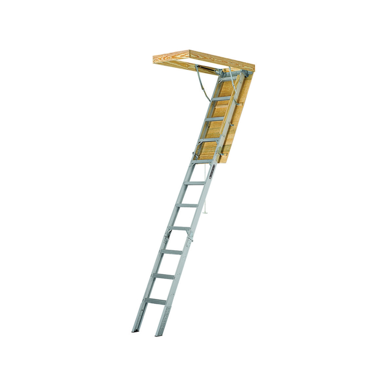 Attic Ladders Pull Down Attic Ladder And Stairways At Ace Hardware Intended  For Proportions 1305 X