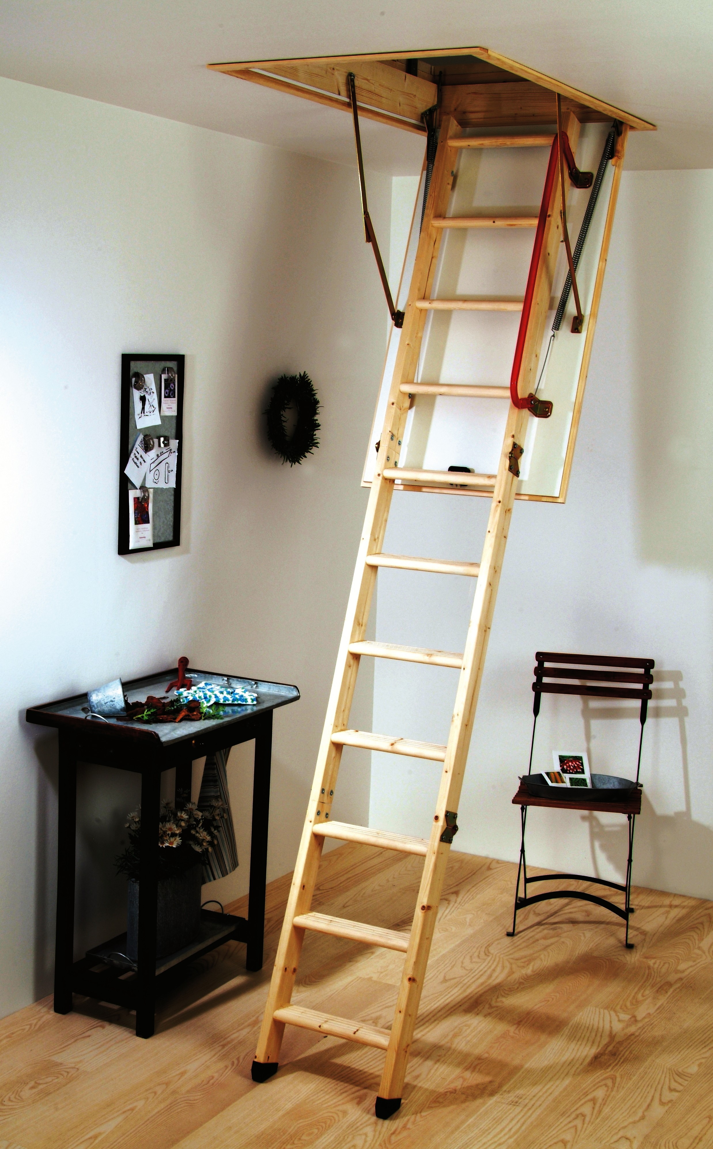 Basic Pull Down Attic Stairs Tips Latest Door Stair Design pertaining to measurements 2475 X 3988