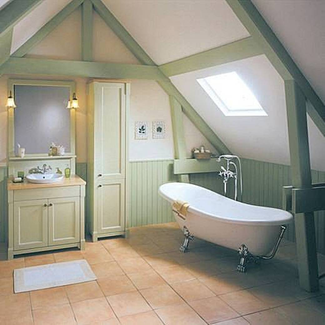 Bathroom Attic Bathroom Ideas pertaining to size 1040 X 1038