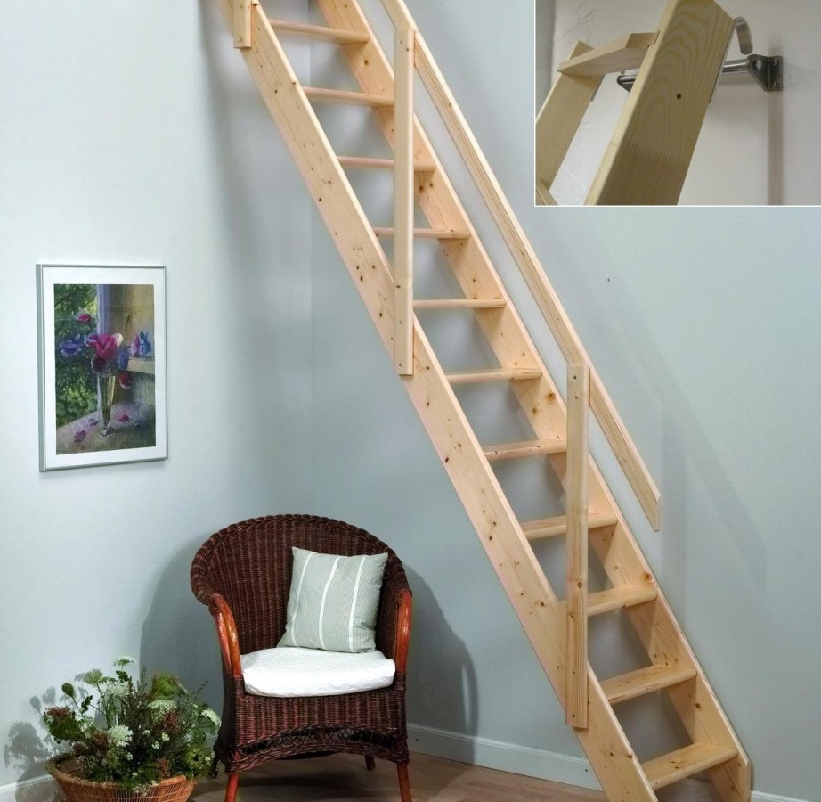 Bessler Attic Ladder Good Ideas For Attic Stairs In Home inside size 922 X 900