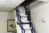 Best Attic Ladder Pull Down Attic Pull Down Stairs Perfect For within proportions 1024 X 768