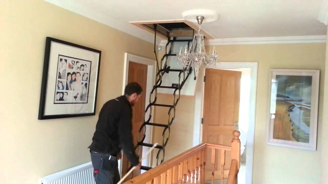 Best Attic Stairs Be Installed Correctly To Be Safe Founder regarding proportions 1280 X 720