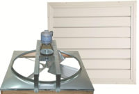 Cool Attic 24 In Belt Drive Whole House Fan With Shutter Cx24bdm intended for proportions 1000 X 1000