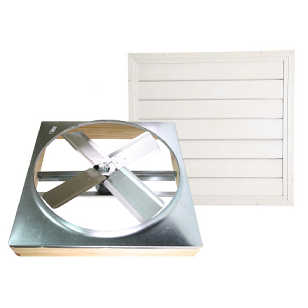 Cool Attic Direct Drive Whole House Fans With Shutter for measurements 1200 X 1200