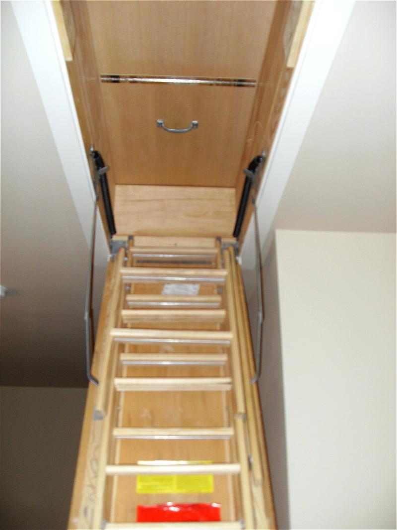 Wide Tread Attic Ladders Attic Ideas