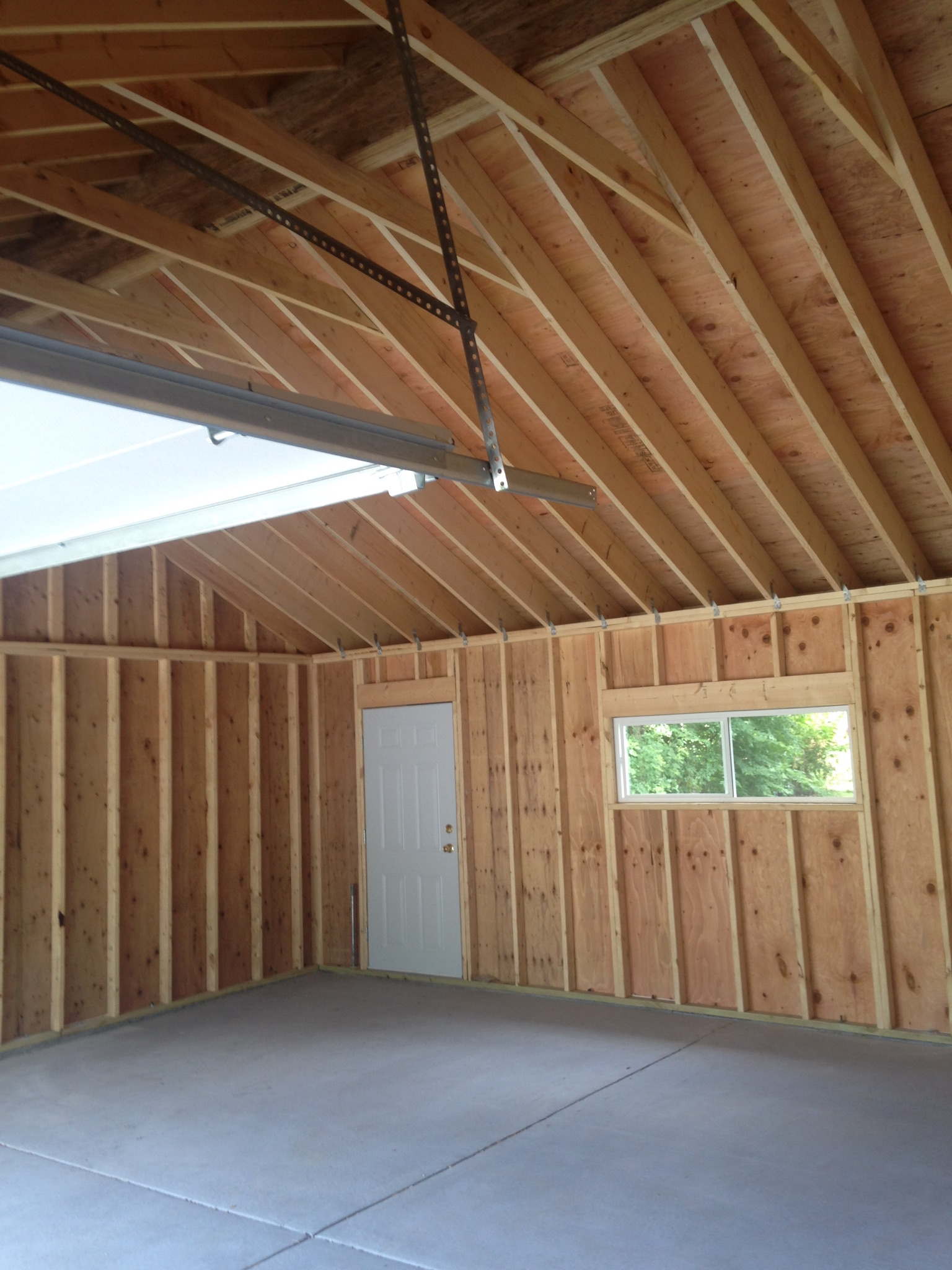 Detached Garage Attic Insulation Attic Ideas