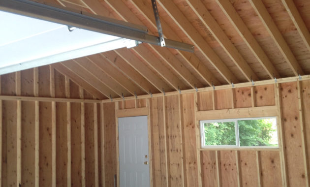 Insulating Detached Garage Attic Attic Ideas