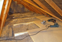 Diy Loftattic Insulation With Over Boarding For Storage regarding dimensions 1600 X 1200