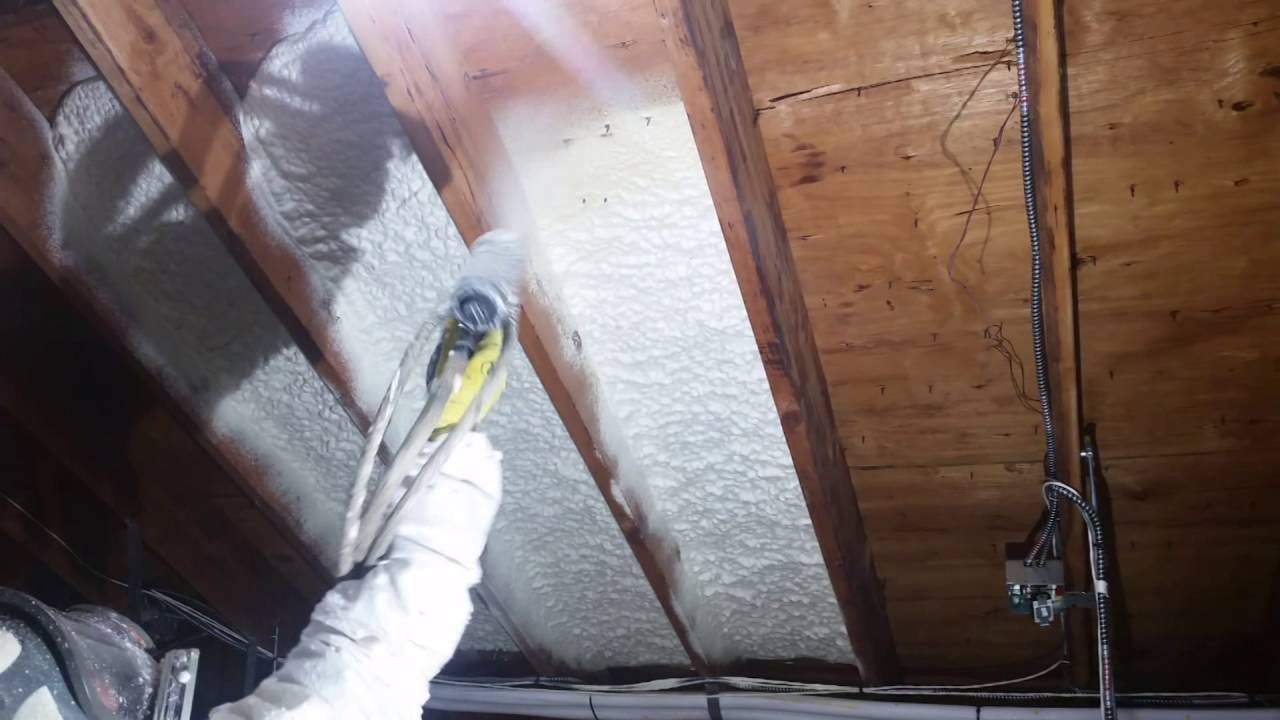 Does Spray Foam Insulation Need A Thermal Or Ignition Barrier within proportions 1280 X 720