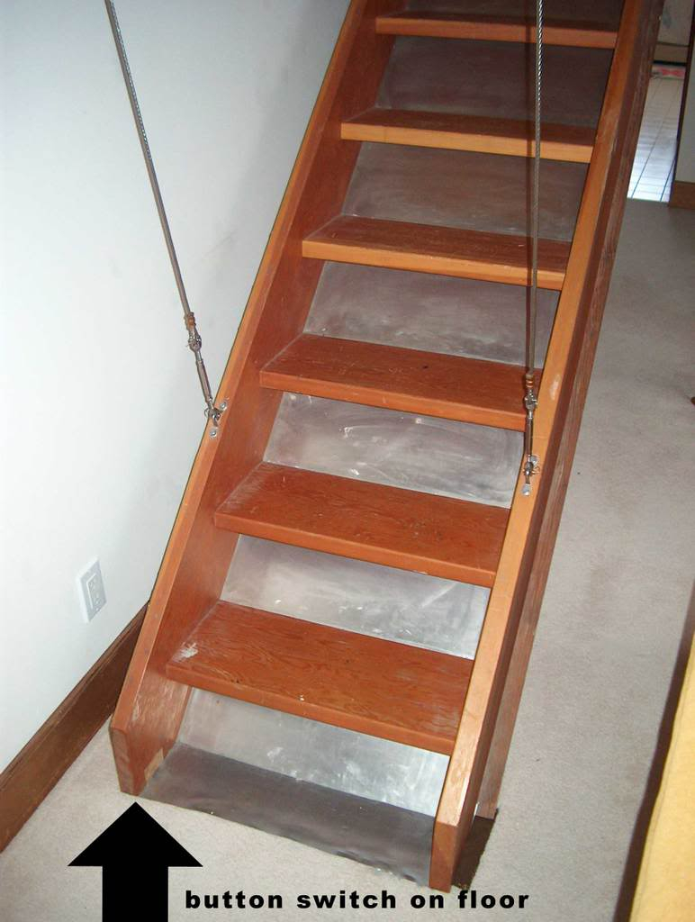 Custom Folding Attic Stairs Attic Ideas