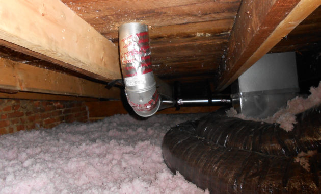Dryer Vent Attic Insulation Attic Ideas