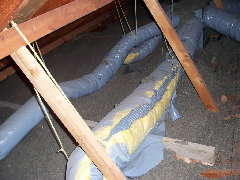 Attic duct insulation wrap attic ideas duct air sealing atticfoil radiant barrier do it yourself with sizing 1024 x 768 solutioingenieria Images
