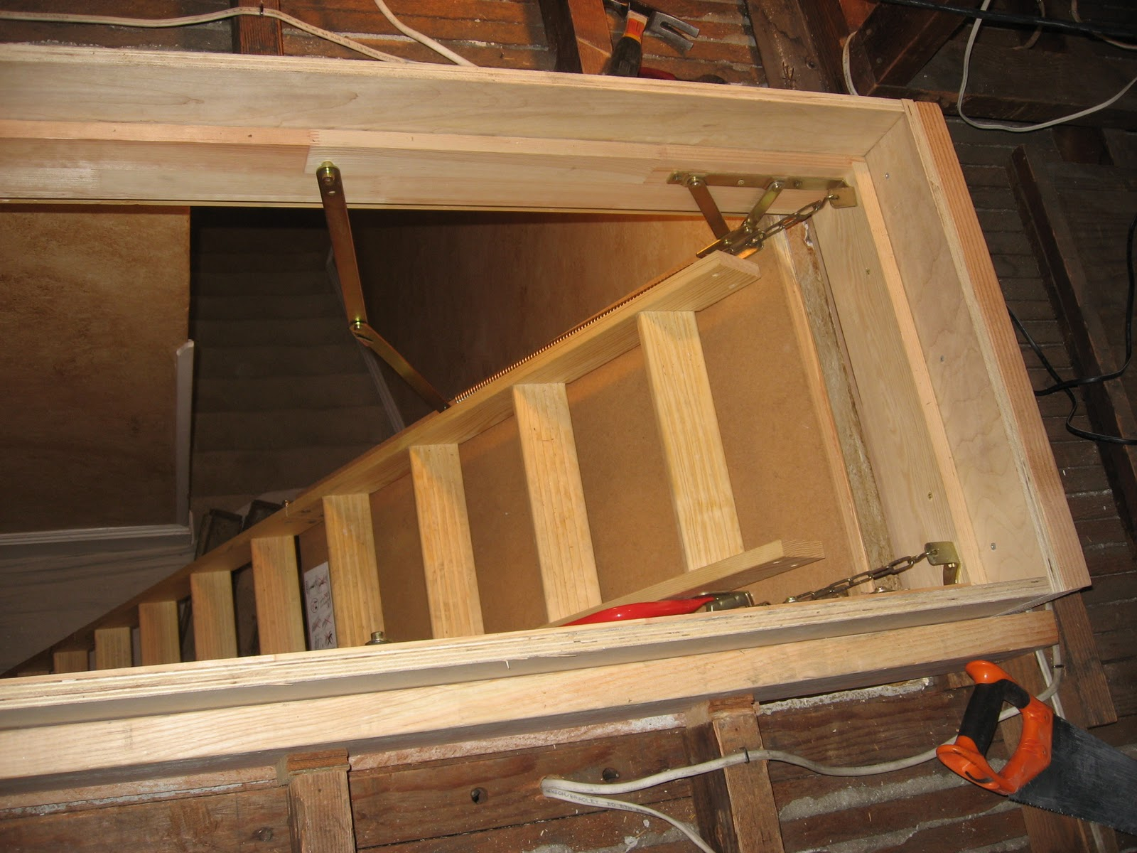 Adding An Attic Ladder Attic Ideas