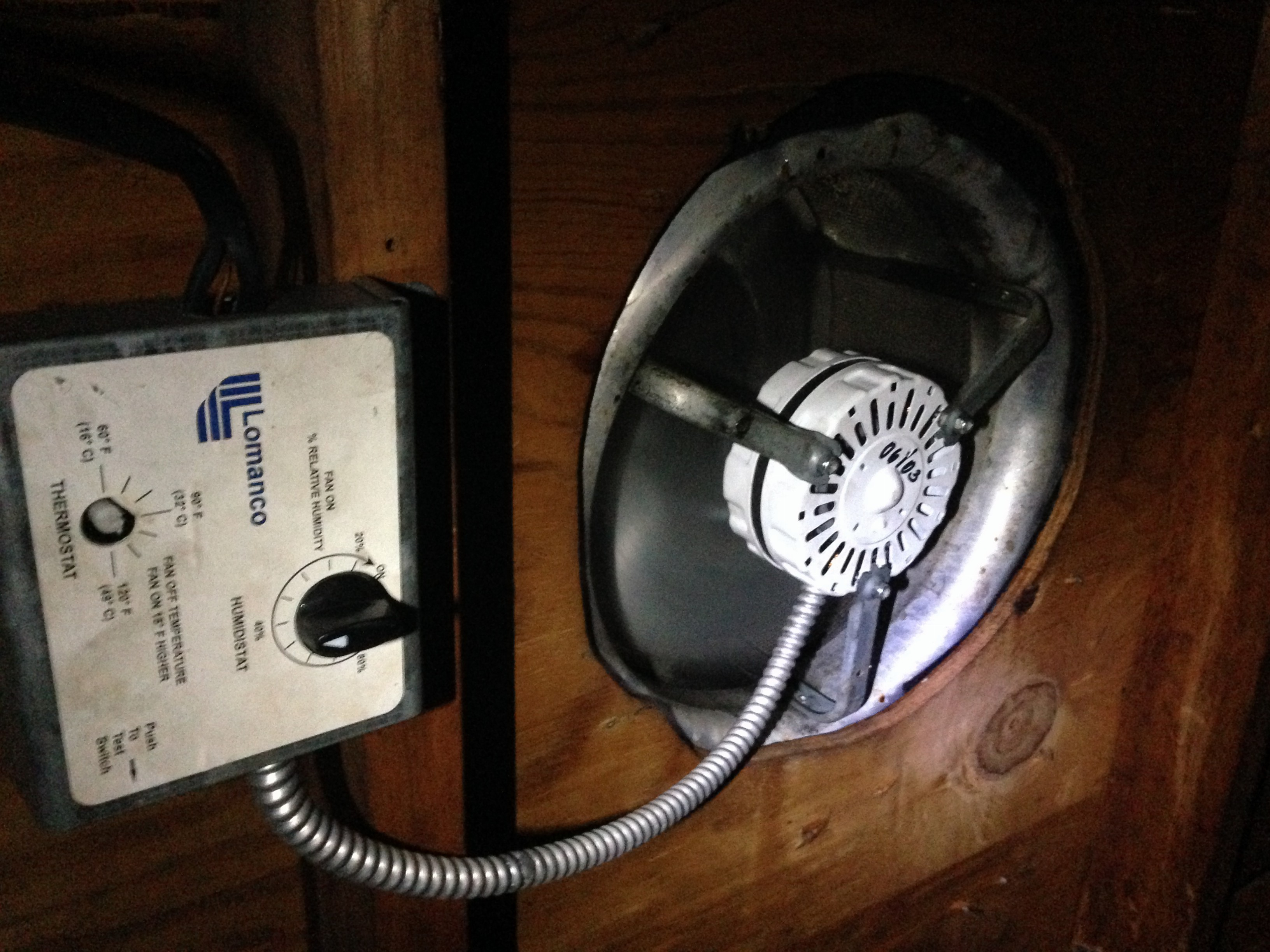 Fix A Squeaking Or Noisy Attic Vent Fan Or Whirly Bird for sizing 3264 X 2447