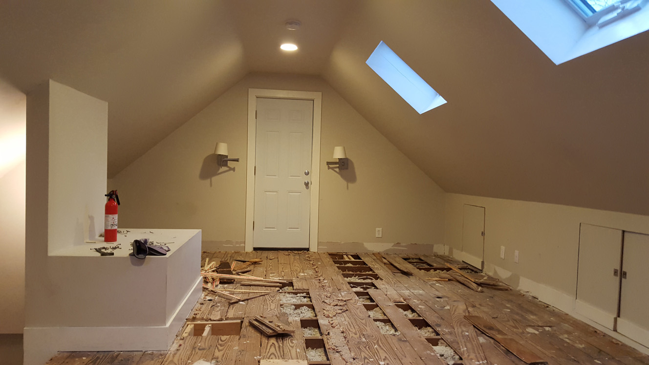 Finished Attic Floor Insulation Attic Ideas