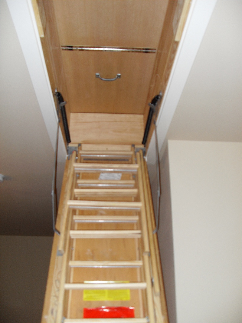 Folding Attic Stairs Ideas Ultimate Folding Attic Stairs throughout size 800 X 1066