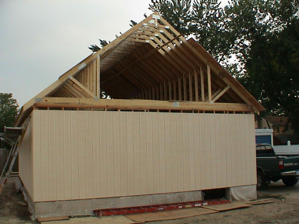 Garage Needs An Attic Carpentry Contractor Talk within proportions 1151 X 863
