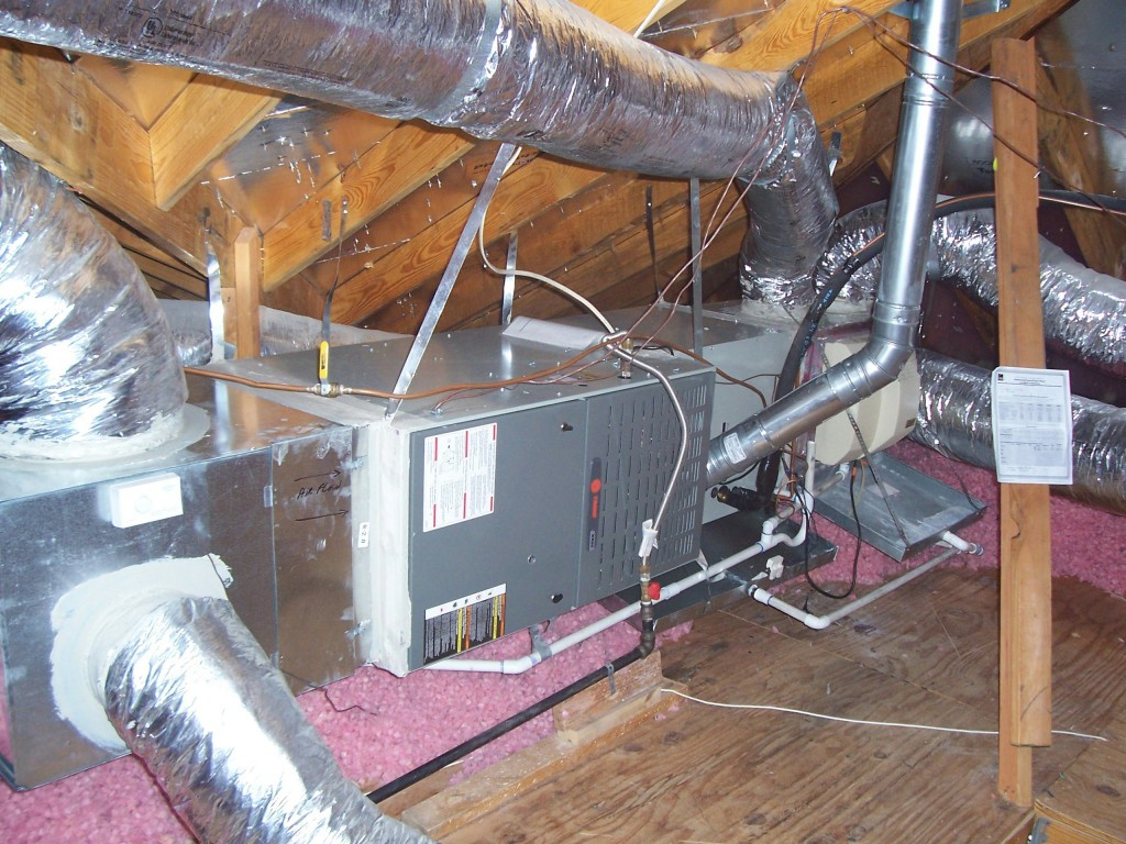 Attic Mounted Heating Systems Attic Ideas