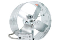 Iliving 14 In Single Speed Gable Mount Attic Ventilator Fan With in sizing 1000 X 1000