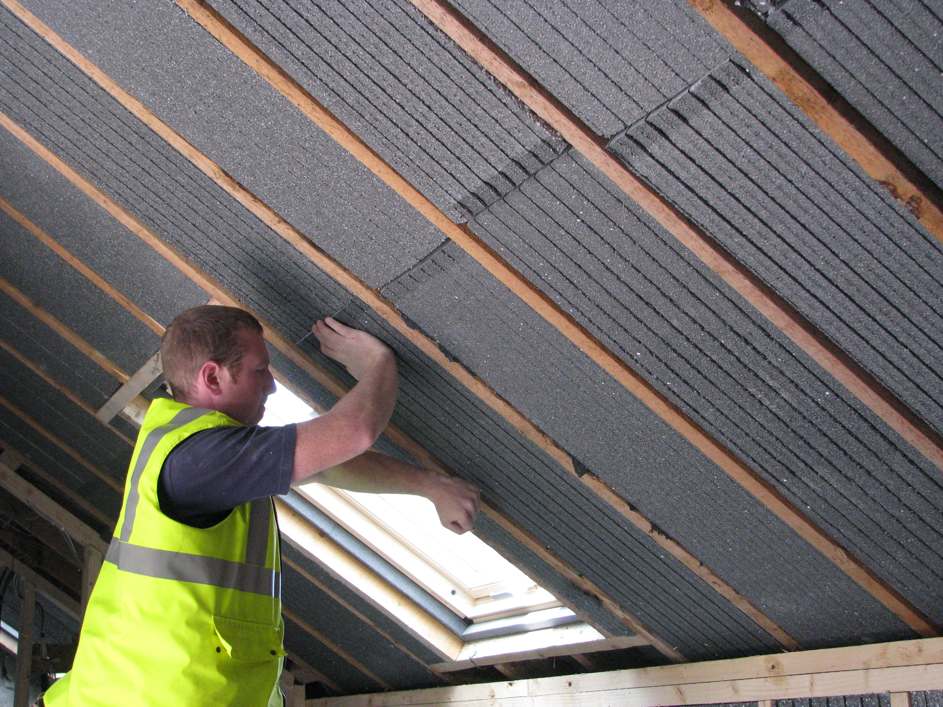 Insulating Attics And Roofs O Hanlon Insulation intended for measurements 3264 X 2448