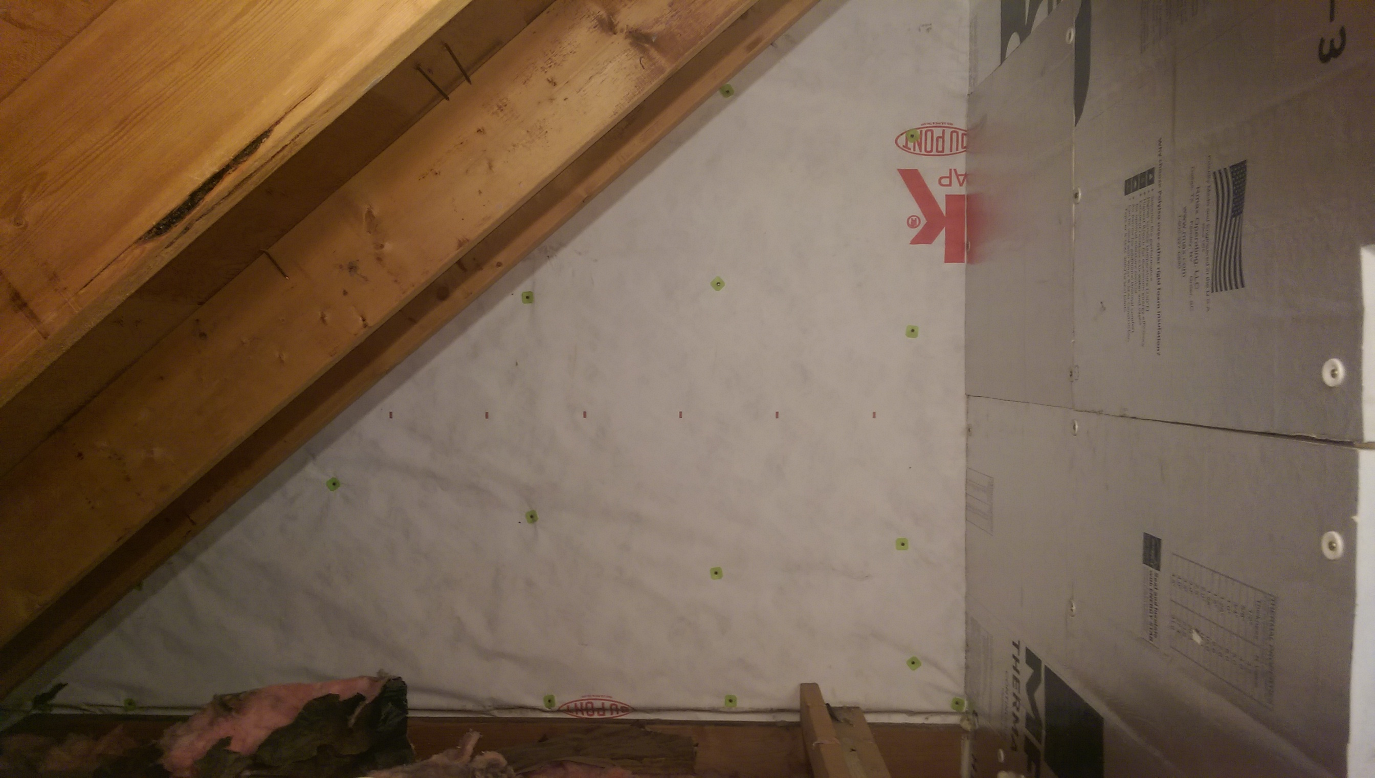 Insulating Shared Wall In The Attic Of An Attached Garage for proportions 2688 X 1520
